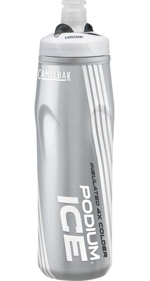 CamelBak Podium Ice - Bidón - 620ml gris/blanco